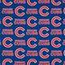 MLB Chicago Cubs Cotton Fabric